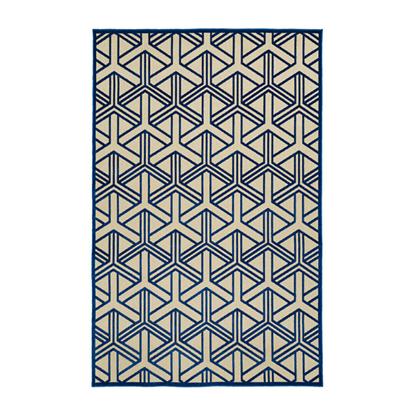 Kaleen Breath of Fresh Air Prism Rectangular Indoor/Outdoor Rug