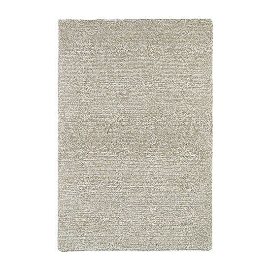 Kaleen Cotton Bloom Shag Rectangular Rug
