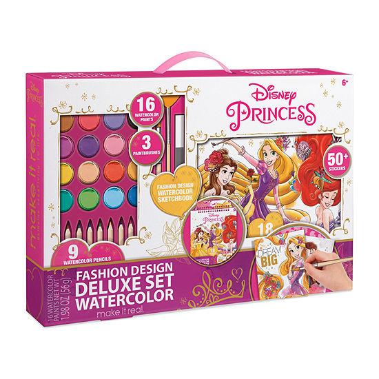 Make It Real Princess Watercolor