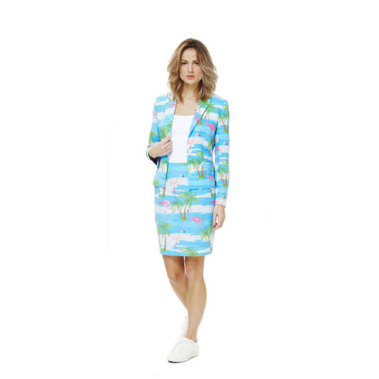 OppoSuits Womens Suit Flamingo Girl