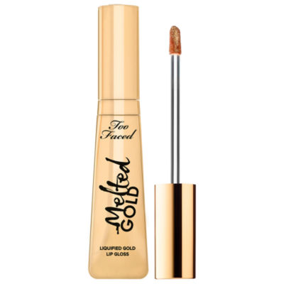 Too Faced Melted Gold Liquified Lip Gloss