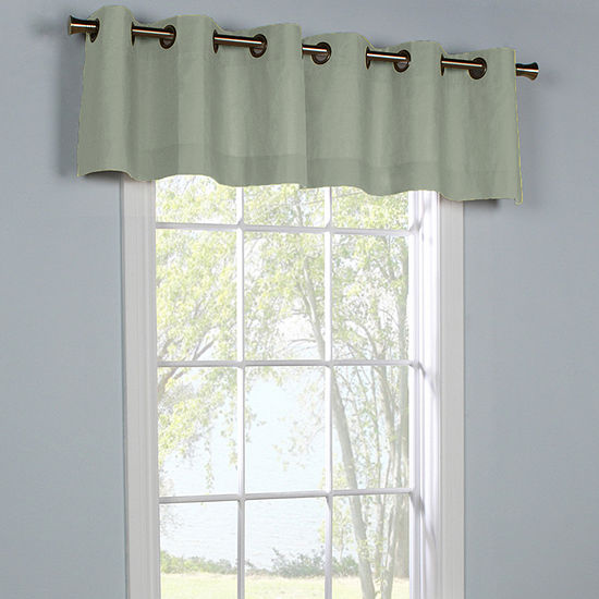 Weathermate Grommet-Top Tailored Valance