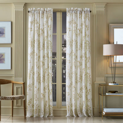 Queen Street Wyatt Rod-Pocket Sheer Curtain Panel