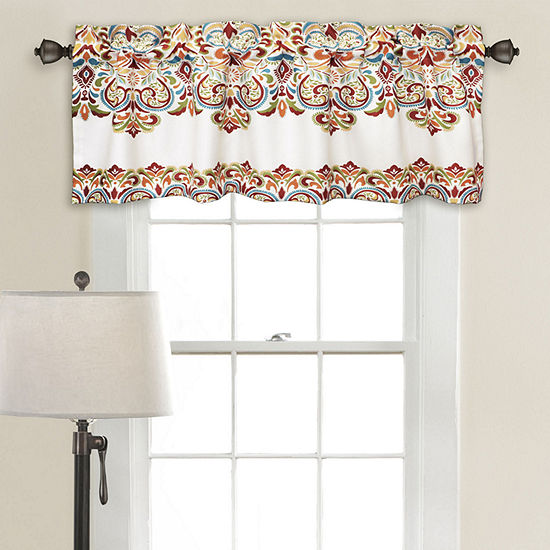 Half Moon Clara Room Darkening Valance Single 52x18+ 2 Inch Header