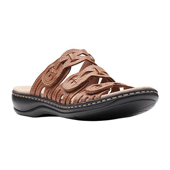 Clarks Womens Leisa Faye Slide Sandals