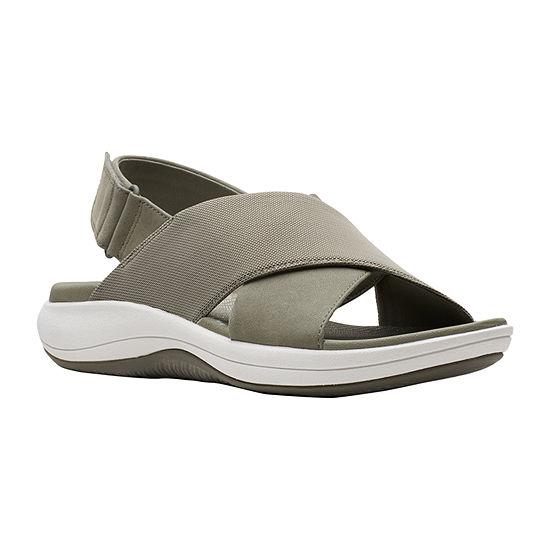 Clarks Womens Mira Sand Strap Sandals