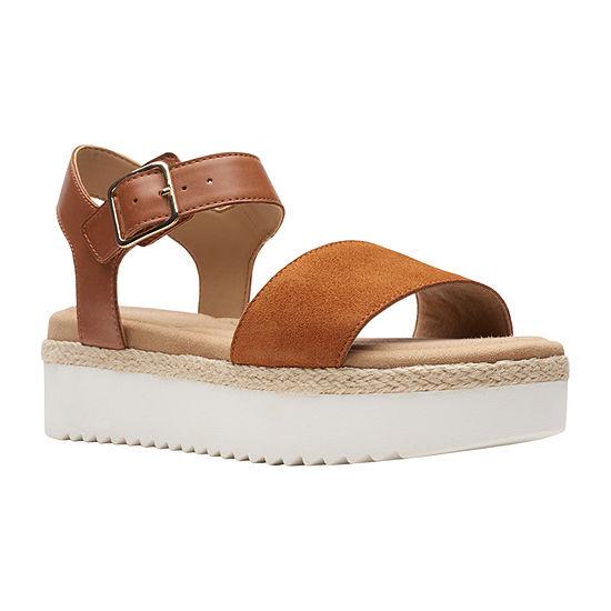 Clarks Womens Lana Shore Strap Sandals