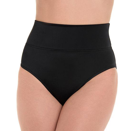 Trimshaper Womens High Waist Bikini Swimsuit Bottom
