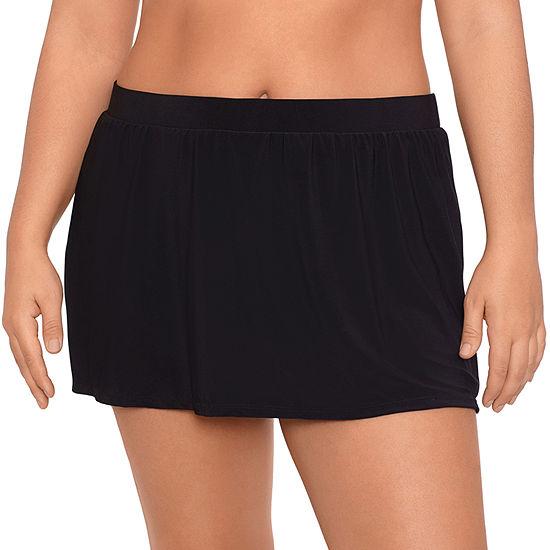 Sonnet Shores Womens Swim Skirt Plus