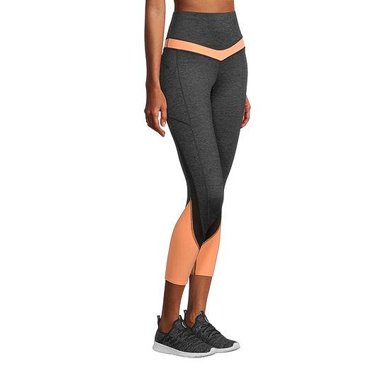 Xersion Train Womens High Rise 7/8 Ankle Leggings