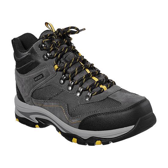 Skechers Mens Trego - Pacifico Hiking  Flat Heel Boots