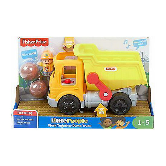 Fisher-Price Little People Work Together Dump Truck
