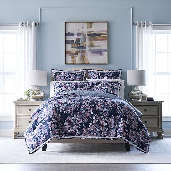 Liz Claiborne Classics Flora 3-pc. Floral Midweight Reversible Comforter Set