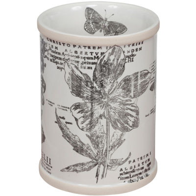 Creative Bath™ Sketchbook Botanical Toile Tumbler
