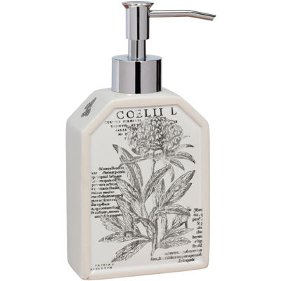 Creative Bath™ Sketchbook Botanical Toile Soap/Lotion Dispenser