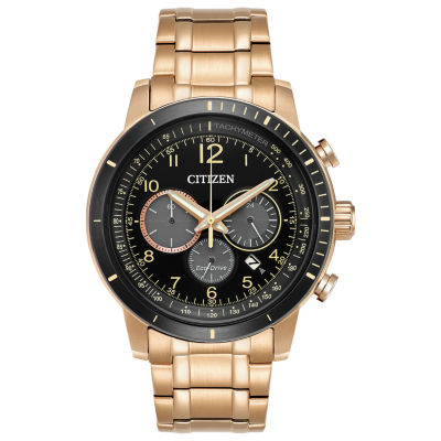 Citizen Mens Rose Goldtone Bracelet Watch-Ca4359-55e