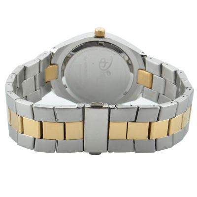 Disney Mickey Mouse Mens Two Tone Bracelet Watch-W001899