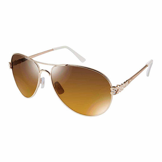 South Pole Womens Full Frame Aviator UV Protection Sunglasses