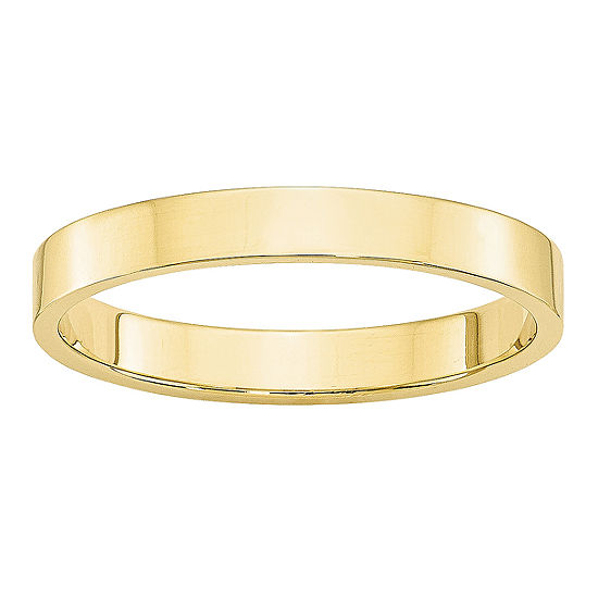 3MM 10K Gold Wedding Band