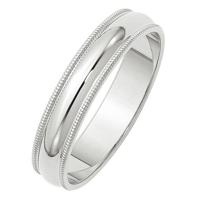 Womens 5mm 10K Gold Band