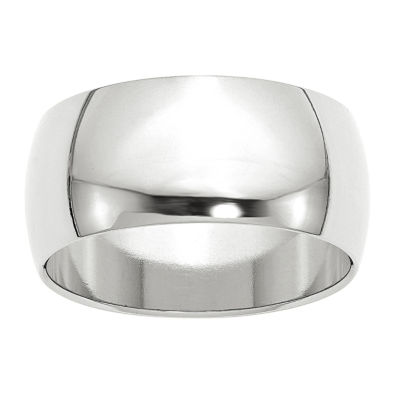 Womens 10mm 10K Gold Band