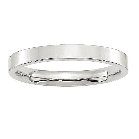3MM Sterling Silver Wedding Band
