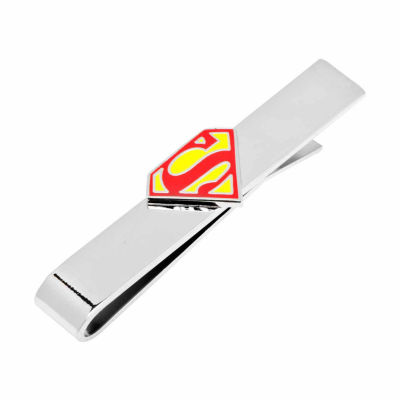 Enamel Superman Shield Tie Bar