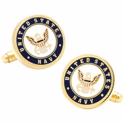 Navy Insignia Cuff Links