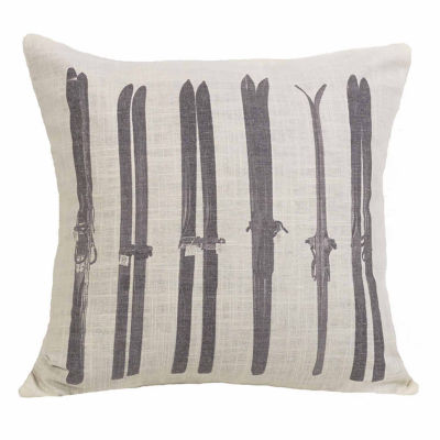 HiEnd Accents Printed ski pillow
