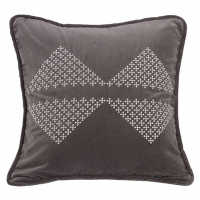 Hiend Accents Whistler Diamond Square Throw Pillow