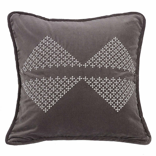 Hiend Accents Whistler Diamond Square Throw Pillow