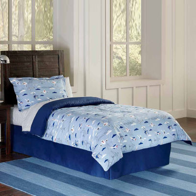 Lullaby Bedding Airplanes Lightweight Comforter Set