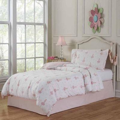 Lullaby Bedding Ballerina Lightweight Comforter Set