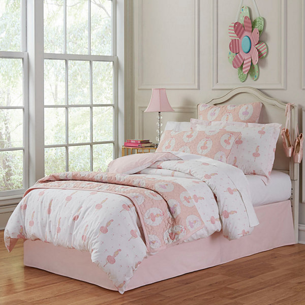 Lullaby Bedding Ballerina Duvet Cover Set