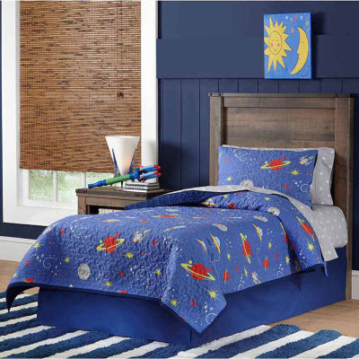 Lullaby Bedding Space Quilt Set