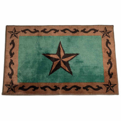 Hiend Accents Star Bath Rug