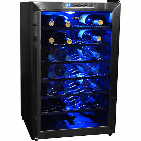 newair aw 281e thermoelectric wine cooler jcpenney. Black Bedroom Furniture Sets. Home Design Ideas