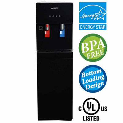 NewAir Pure Spring WAT40B BPA Free Hot Cold BottomLoading Water Dispenser