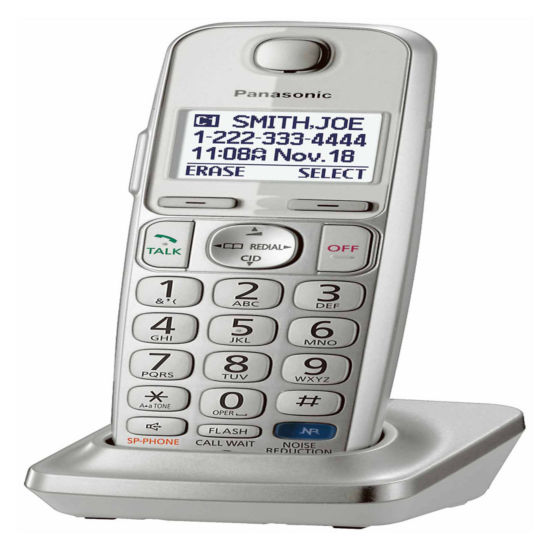 Panasonic KX-TGEA20 Additional Digital Cordless Handset for TGE210, TGE230, TGE240, TGE260 & TGE270 Series