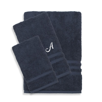 Linum Home Denzi 3PC Monogrammed Towel Set