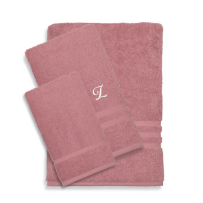 Linum Home Denzi 3PC Monogrammed Towel Set