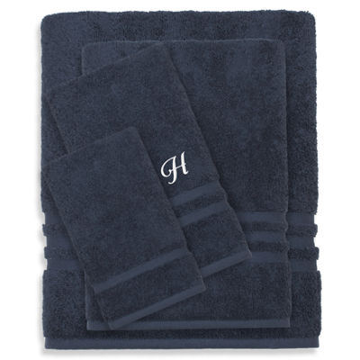 Linum Home Denzi 4PC Monogrammed Towel CombinationSet