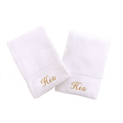 Linum Home His And Hers Hand Towels (Set Of 2)