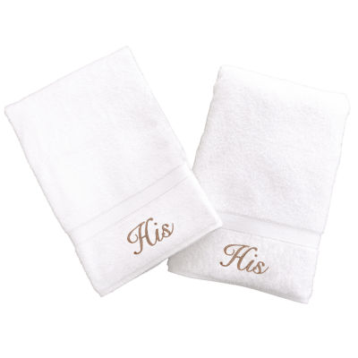 Linum Home His And His Hand Towels (Set Of 2)