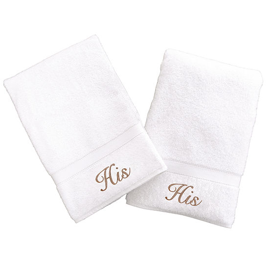 Linum Home His And His Hand Towels Set Of 2