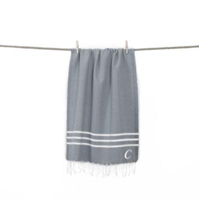 Linum Home Textiles Alara  Personalized Turkish Pestemal Beach Towel
