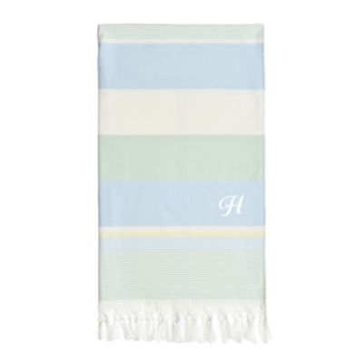 Linum Home Textiles Summer Loving Personalized Pestemal Beach Towel