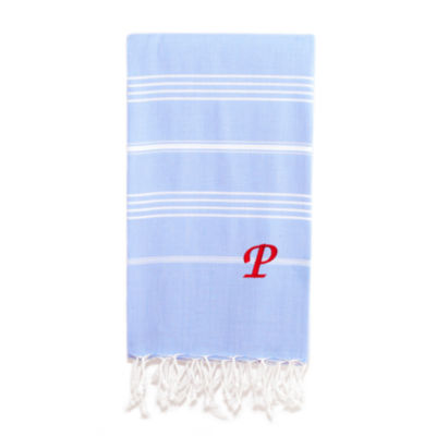 Lucky Pestemal Personalized Beach Towel