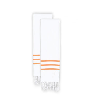 Linum Home Textiles Alara  Turkish Pestemal Hand/Guest Towels (Set Of 2)