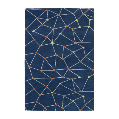 Kaleen Lily & Liam Star-Gaze Rectangular Area Rug